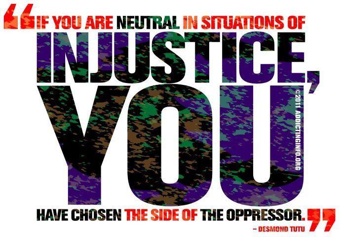 Injustice Quote 4 Picture Quote #1