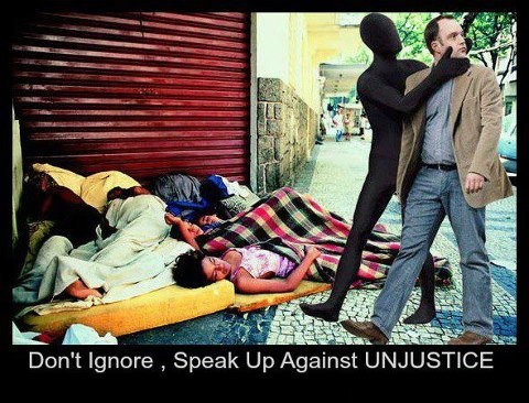 Social Injustice Quote 1 Picture Quote #1