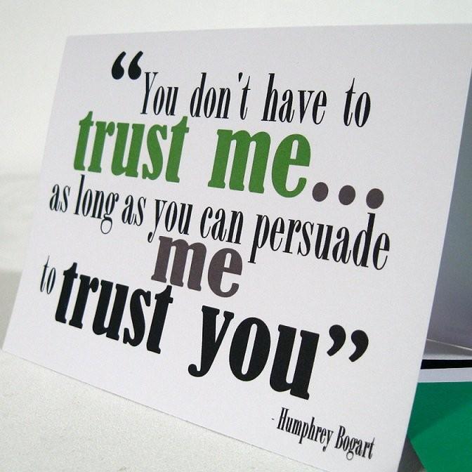 Trust Me Quote 3 Picture Quote #1