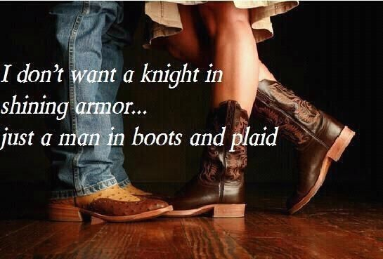 Cowboy Boots Southern Girls Quote