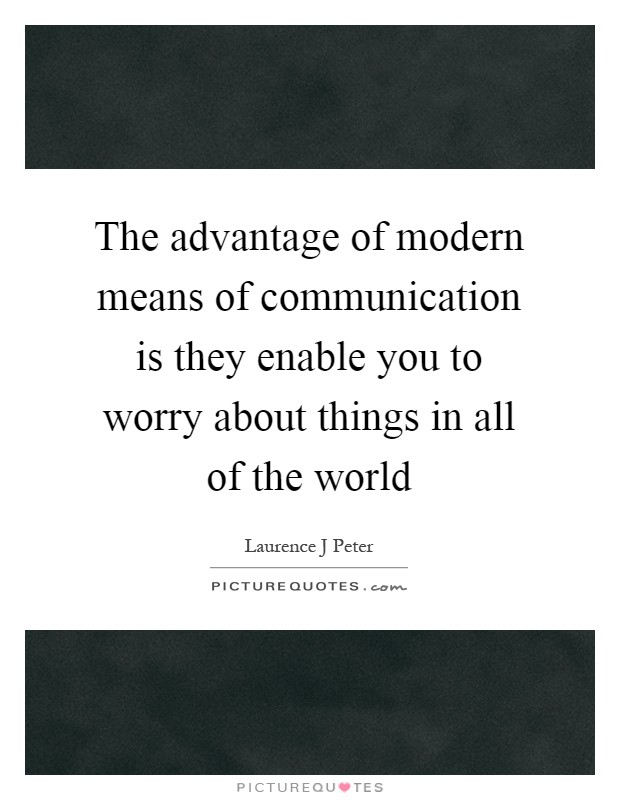 advent modern means communication Telecommunication is communication at a distance by technological means, particularly through electrical signals or electromagnetic wavesthe word is often used in its plural form, telecommunications, because it involves many different technologie.