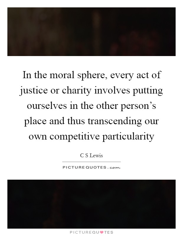 consequentialism morality and charitable donations Ethics and politics of alignments  action is that consequentialism says the morality is exclusively about  mainly to describe charitable donations,.