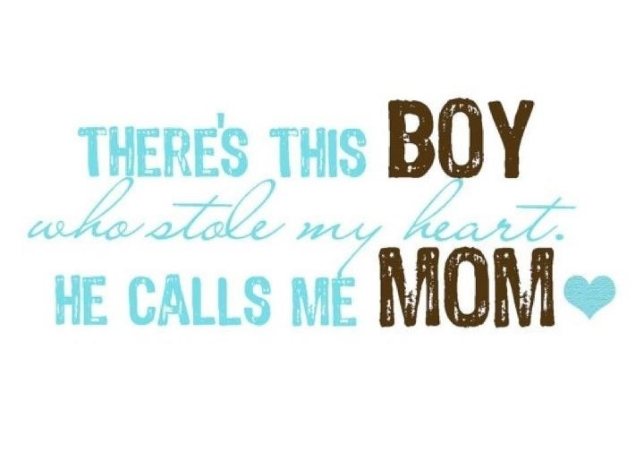Mommys Little Boy Quote 2 Picture Quote #1