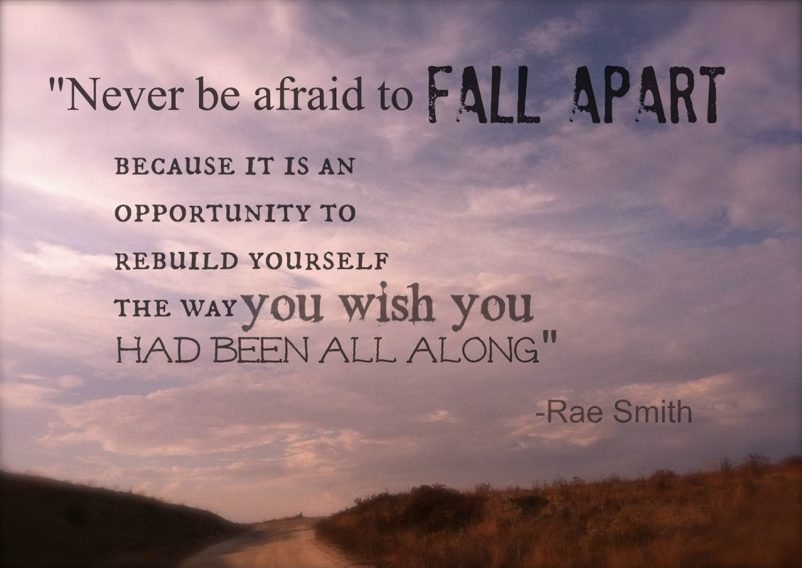 Falling Apart Quote 2 Picture Quote #1