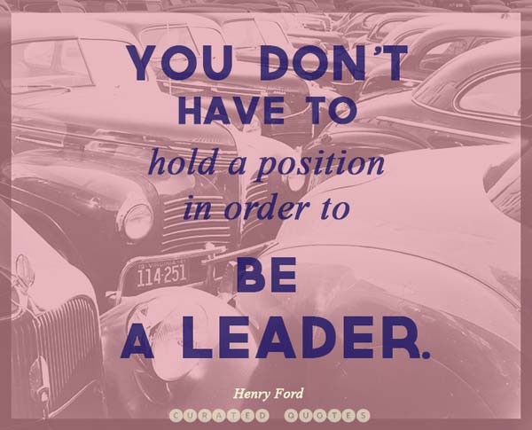 Great Leadership Quote For Business 1 Picture Quote #1