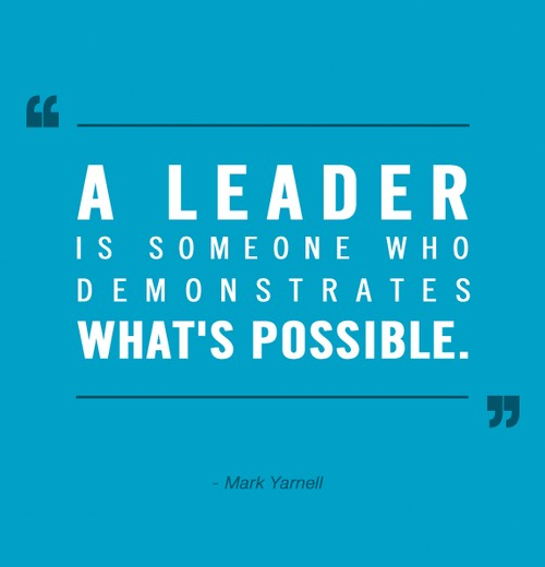 Great Leadership Quote 4 Picture Quote #1