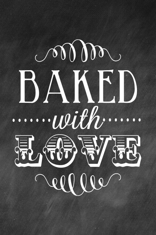 Love Baking Quote 1 Picture Quote #1