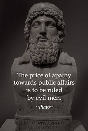 Government Apathy Quote 1 Picture Quote #1
