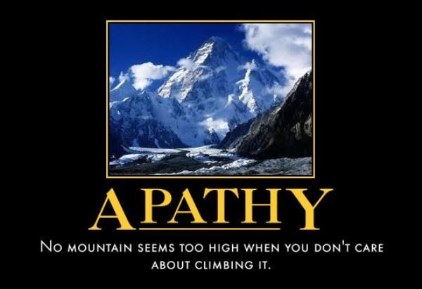 Apathy Quote 8 Picture Quote #1