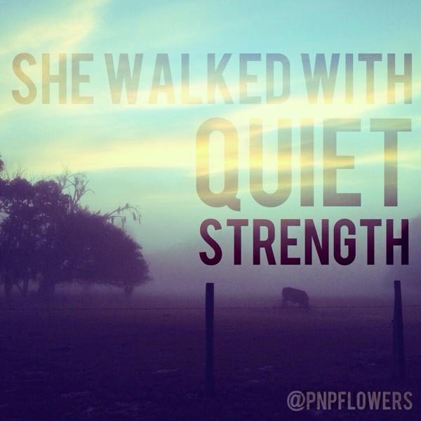 Quiet Quote 1 Picture Quote #1