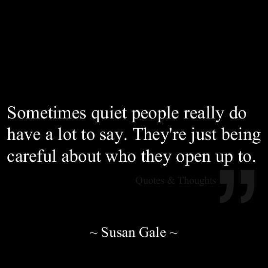Quiet Quote 2 Picture Quote #1