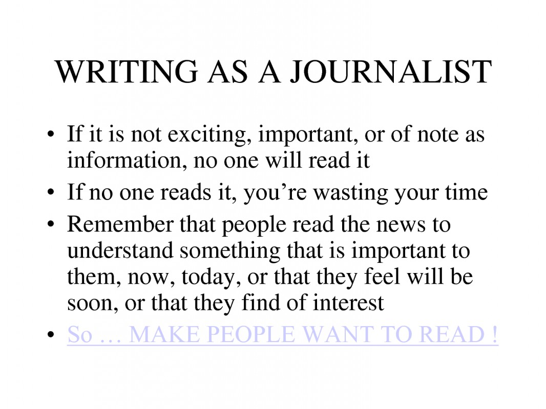 Journalism Quote 2 Picture Quote #1