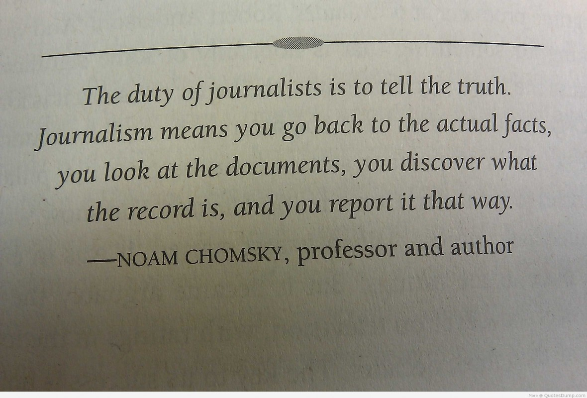 Journalism Quote 3 Picture Quote #1