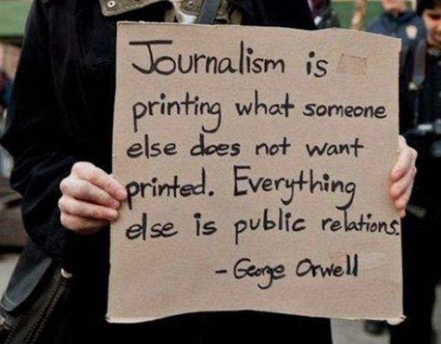 Journalism Quote 4 Picture Quote #1