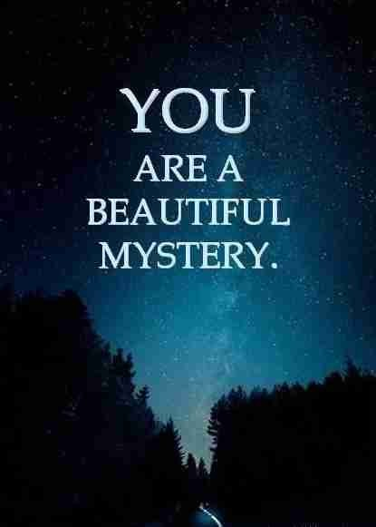 Mysterious Quotes About Love Tumblr : Mysterious Quotes Mysterious Sayings Mysterious Picture Quotes