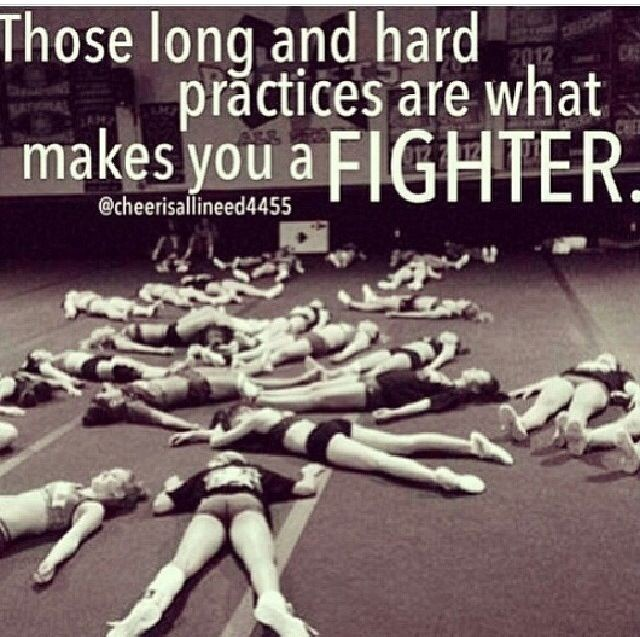 Cheer Practice Quote 1 Picture Quote #1