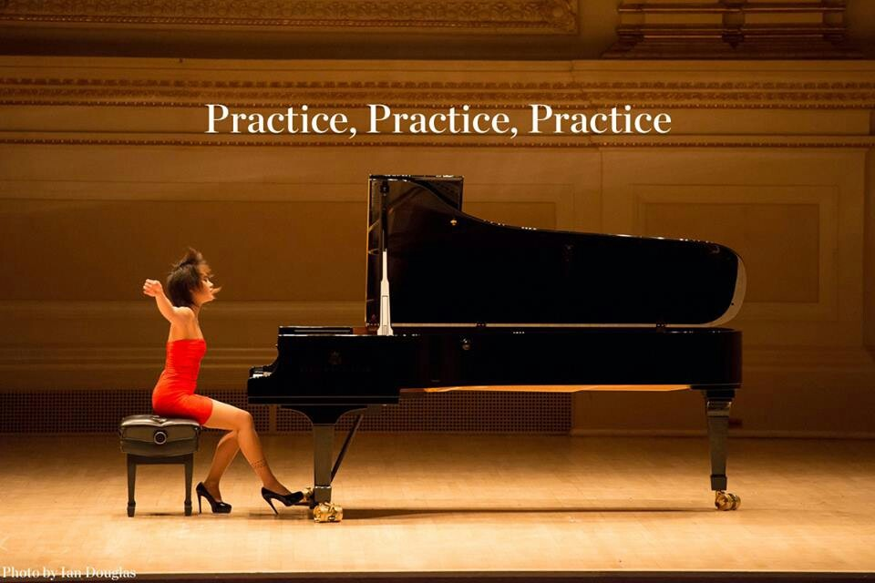 Piano Practice Quote 1 Picture Quote #1