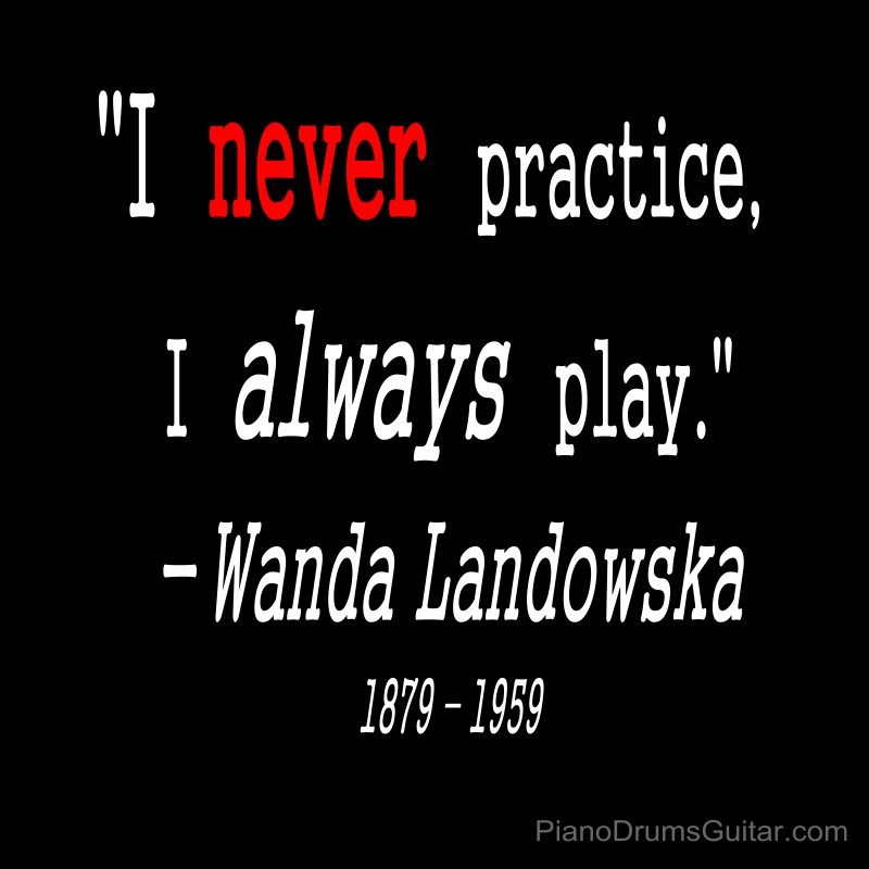 Piano Practice Quote 2 Picture Quote #1