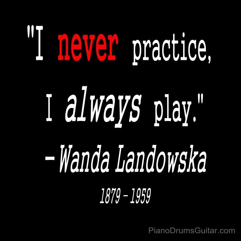 Piano Practice Quote 2 Picture Quote #1