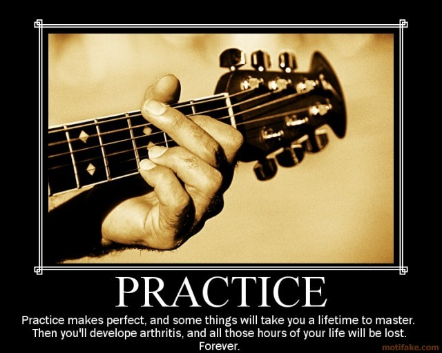 Guitar Practice Quote 1 Picture Quote #1