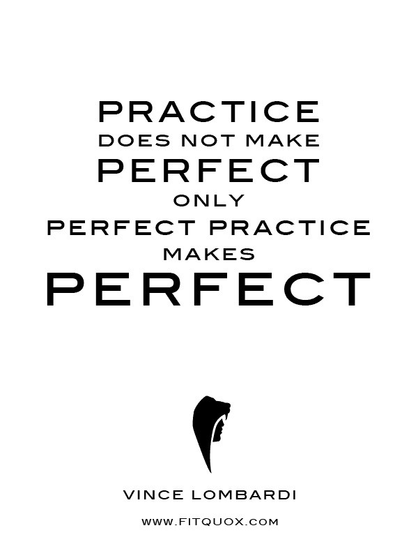Vince Lombardi Practice Quote 2 Picture Quote #1