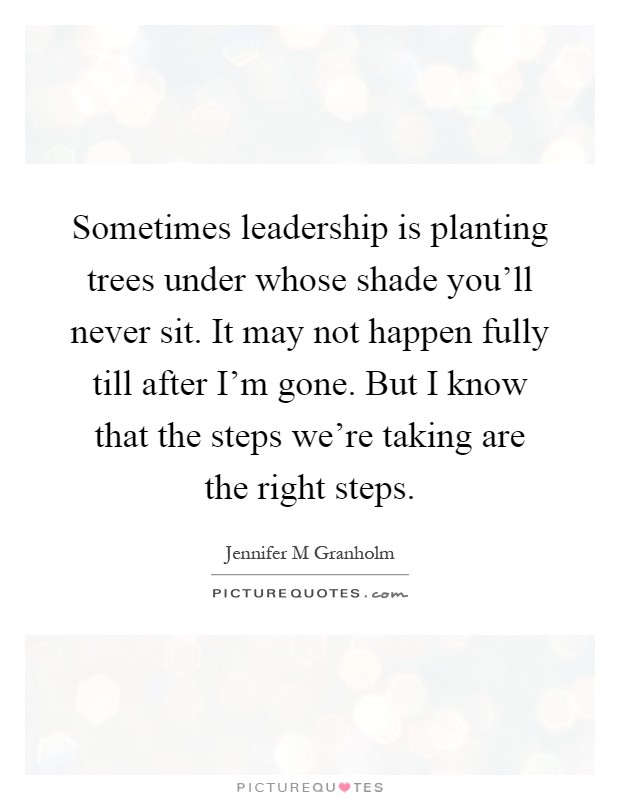 Plant Trees Under Whose Shade Quote : Planting quotes sayings picture