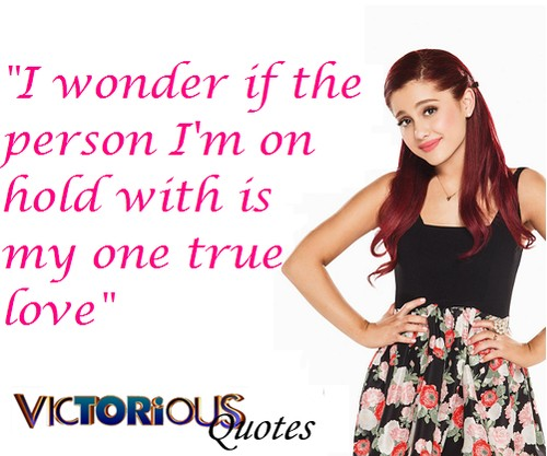 Victorious Cat Valentine Quote 3 Picture Quote #1