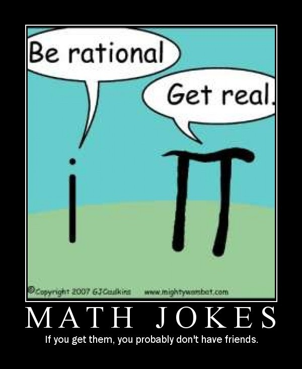 Funny Math Quote 4 Picture Quote #1