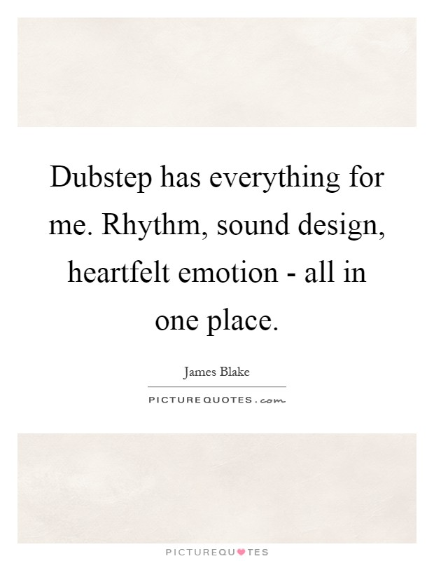 Dubstep has everything for me rhythm sound design heartfelt dubstep has everything for me rhythm sound design heartfelt emotion all in one place voltagebd Gallery