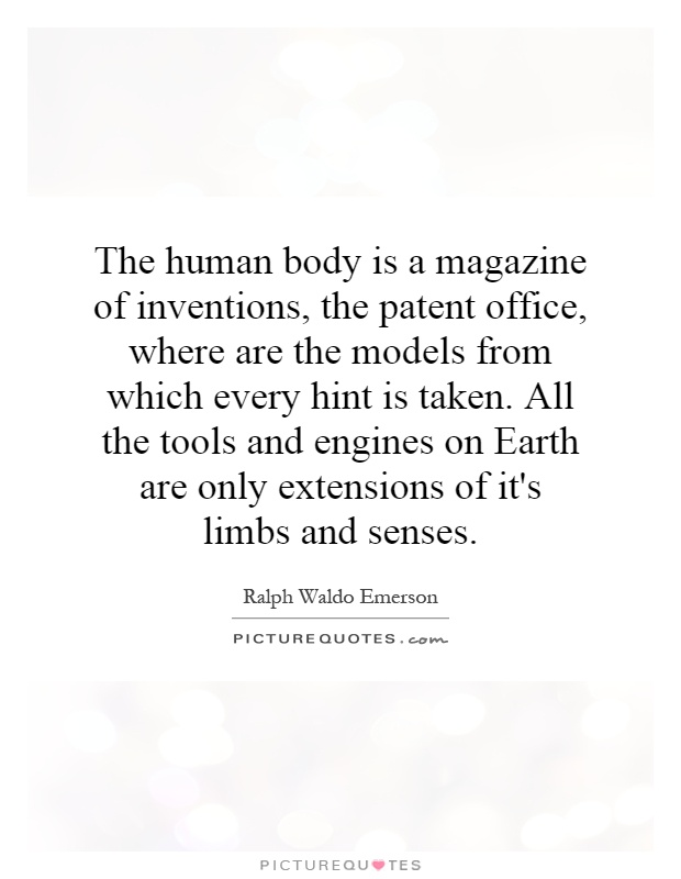 human beings are the organs of the machine world