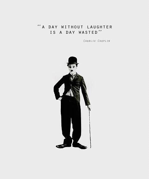A day without laughter is a day wasted Picture Quote #1