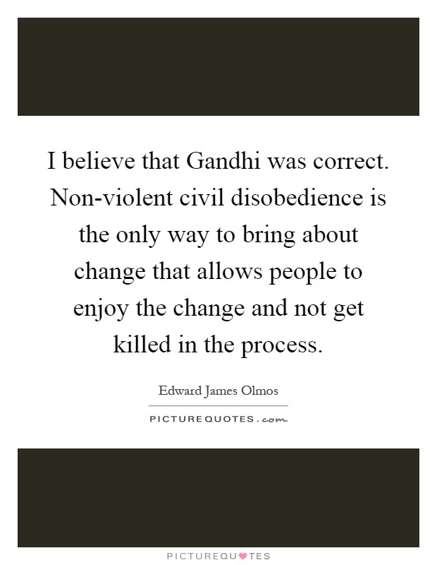 a comparison of violent forms of civil disobedience on the middle east and non violent forms of civi