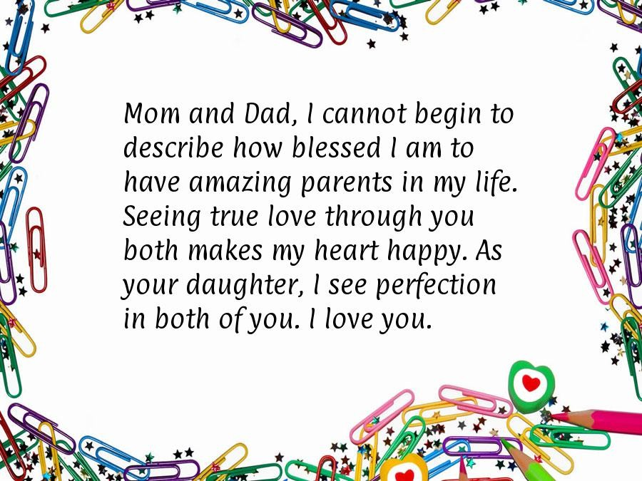 Anniversary Quote For Parents 4 Picture Quote #1