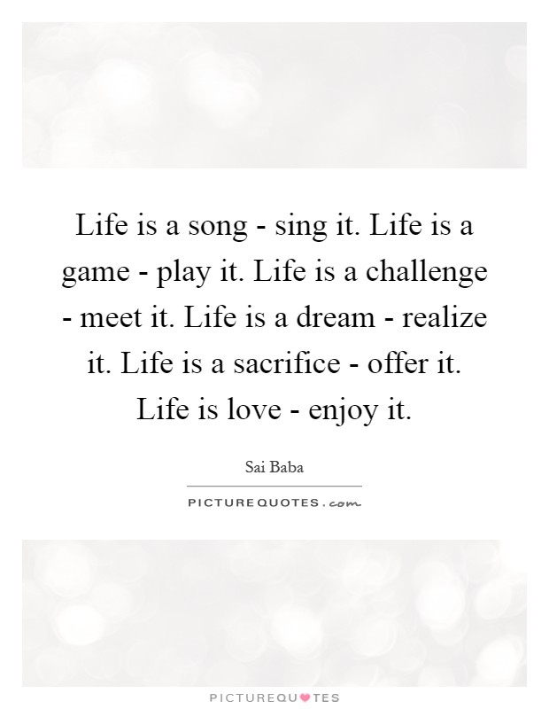 30+ Life Is A Game Play It Quote Images