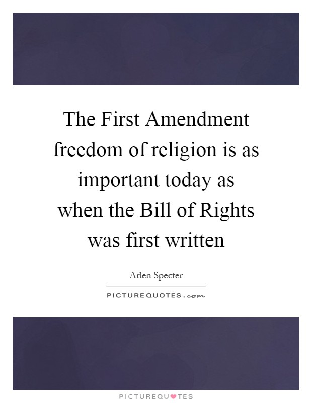essay on why the first amendment is important The first amendment to the constitution of the united states of america is one of the most important and controversial facets of the historic document the first amendment is the first of 10 amendments also known as the bill of rights like the constitution proper, the bill of rights is a living.