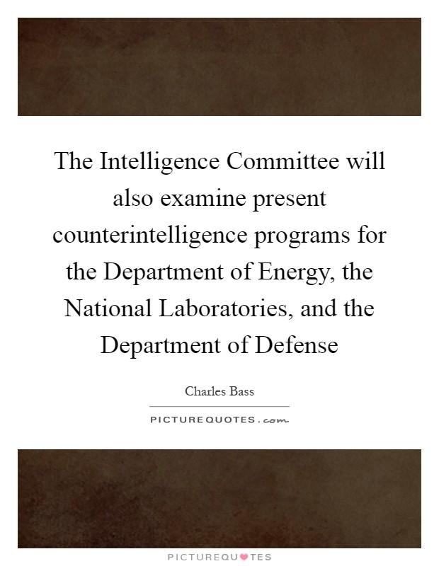 Counterintelligence Handouts