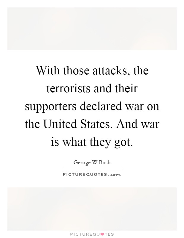 an overview of the terrorist attacks in the united states