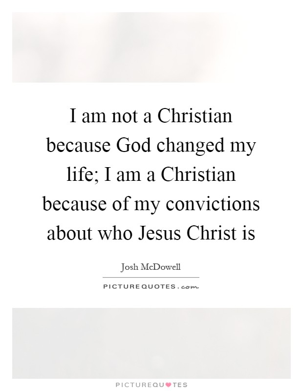 """how god changed my life """"my life has been changed  god doesn't want you to live an idle life,' and i'm just not hardwired to sit around i want to get after it and live my life'."""