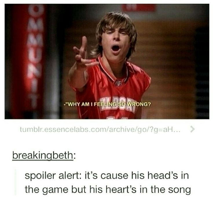 Funny Highschool Quotes: High School Musical Funny Quote