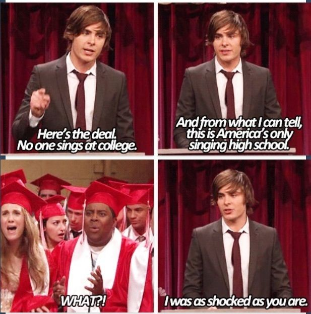 Zac High School Musical Quote 1 Picture Quote #1