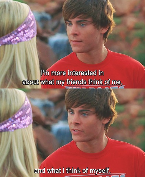 Zac High School Musical Quote 2 Picture Quote #1