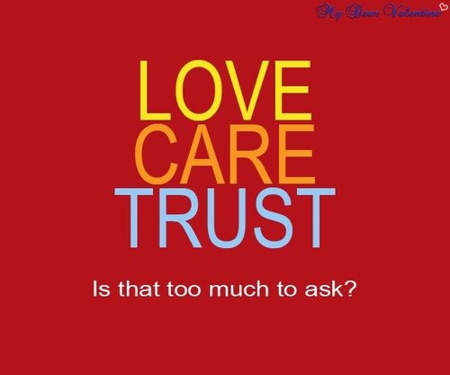 Love And Trust Quote 3 Picture Quote #1
