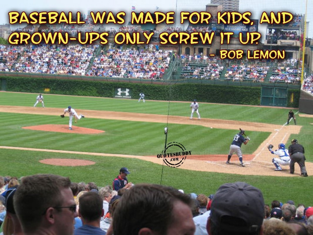 Funny Baseball Quote | Quote Number 646293 | Picture Quotes