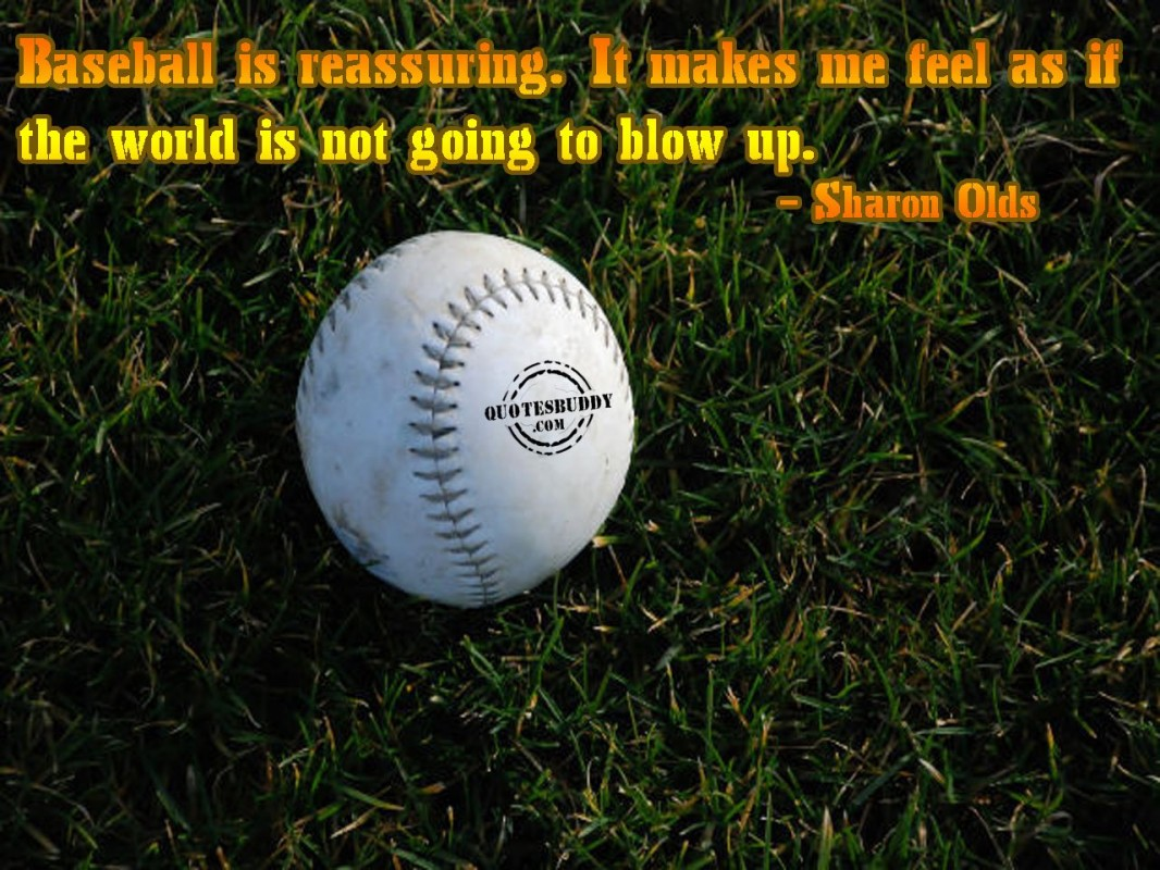 Funny Baseball Quote | Quote Number 646294 | Picture Quotes