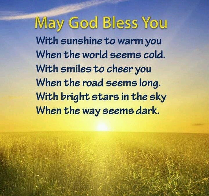 God Bless You Quote 4 Picture Quote #1