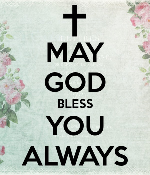 May God Bless You Quote 1 Picture Quote #1