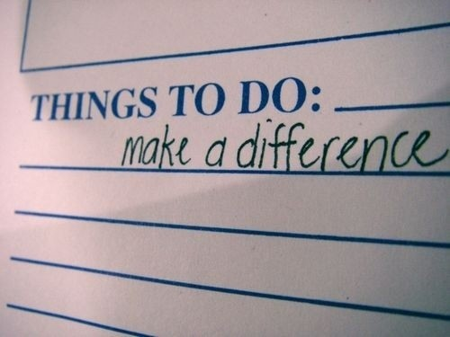 Make A Difference Quote 1 Picture Quote #1