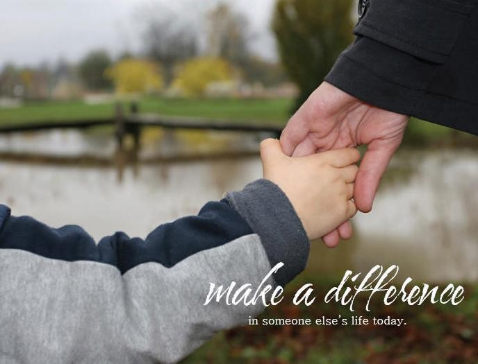 Make A Difference In Someones Life Quote 1 Picture Quote #1