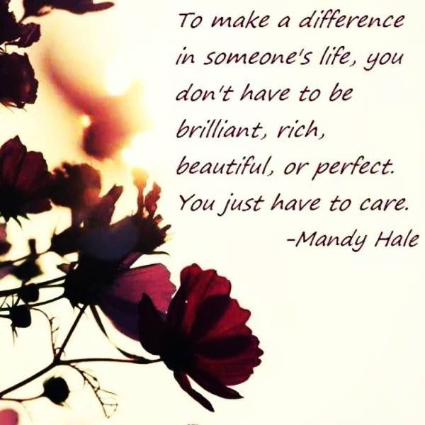 Make A Difference In Someones Life Quote 3 Picture Quote #1