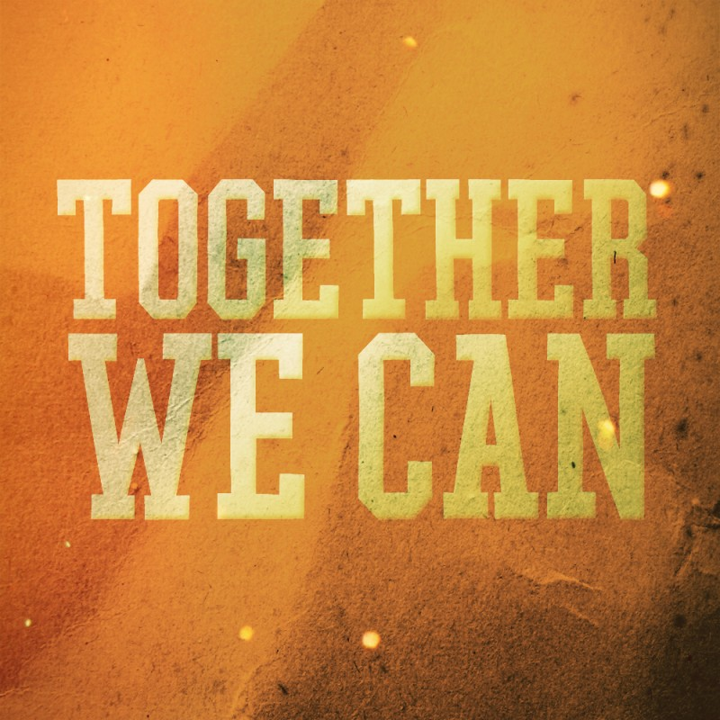 Together We Can Make A Difference Quote 1 Picture Quote #1
